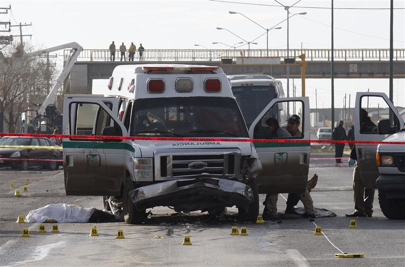 reuters:  Federal forces sully Mexico's war on drugs Ciudad Juarez is a city wrecked by Mexico's drug violence. Although official figures vary, the city this month likely surpassed 10,000 homicides in the past four years. That's more than Afghanistan's civilian casualties in the same period and more than double the number of U.S. troops killed in the entire Iraq war.