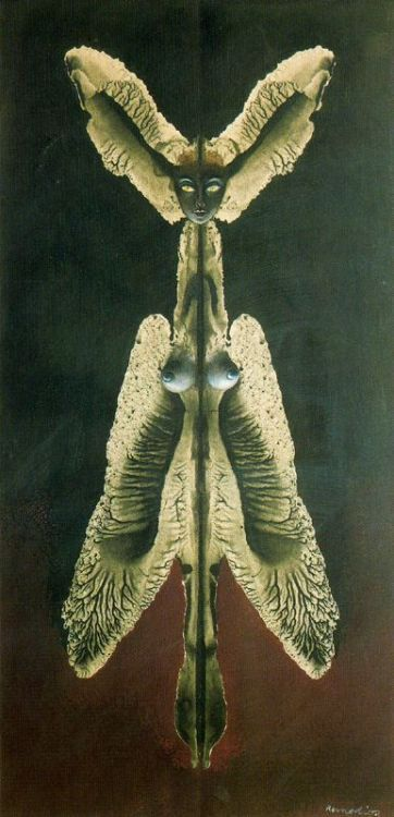 iambecomedeath:  Remedios Varo-women or the spirit of the night