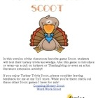 Turkey Trivia Scoot