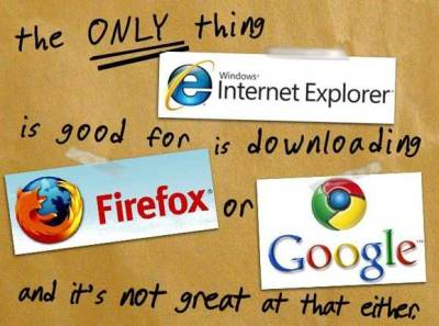 Explorer - Your Grandmother's Browser…