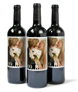 I love these personalized wine bottle labels that you can buy on Pinhole Press.  Great idea for a wedding, the holidays, or a gift for your girl friends.  CHEERS!