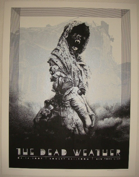 (via Piccsy :: The Dead Weather Poster)