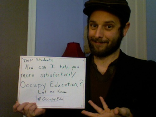 occupyedu:  Asking students: revolutionary?