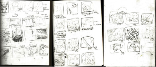 These are the thumbnails for my sketchbook project - Uncharted Waters.  I want to say Hello and Thank You to my new followers and the passer byers. You guys rock, and I hope you have a great New Years.  <3  I have a lot of art in progress right now and I hope to get it blogged and ready to view soon. So - I leave you guys with what I'm listening to right now.