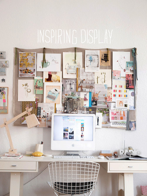 obliteratedheart:  Workspace inspiration   My space