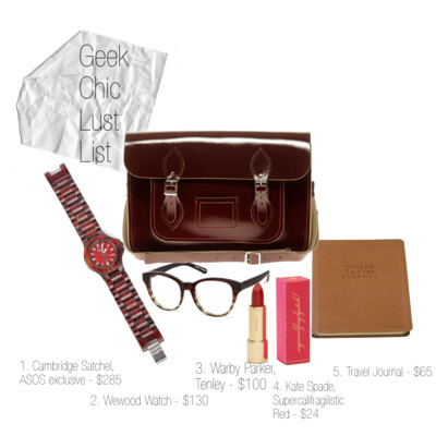 Geek Chic Lust List by window88 featuring satchel bags