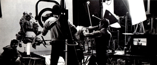 heyoscarwilde:  behind the scenes on Return of the Jedi scanned from Cinefex Magazine :: Don Shay Publications :: 1983