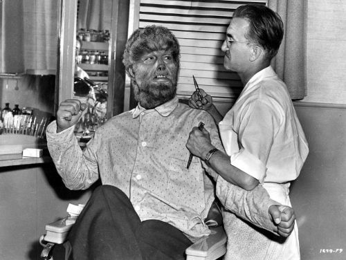 Fact 60: Lon Chaney Jr.'s Wolf Man makeup took six hours to apply, and three hours to get off.