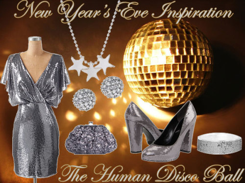New Year's Eve Style Inspiration #1: The Human Disco Ball - The Frisky