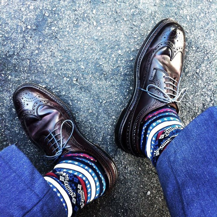 socks all day!  The shoes here are so-so.  The socks are killin' it.