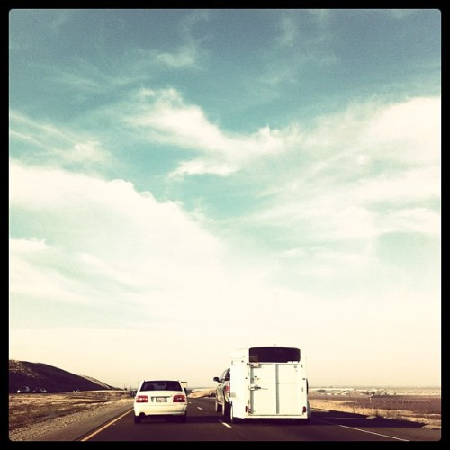 San Francisco bound. #road #instagram #iphone #highway  (Taken with instagram)