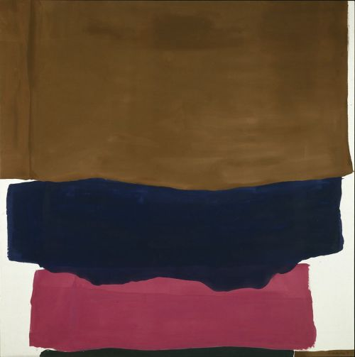 michaelcharles:  Helen Frankenthaler, Indian Summer, 1967