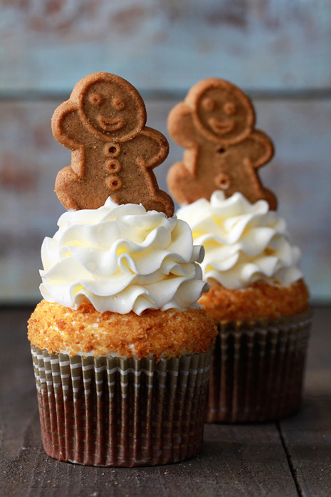 Gingerbread Latte Cupcakes Recipe