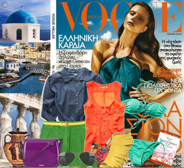 Greek Vogue.