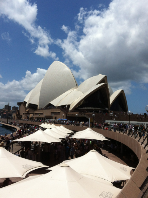 Going to the orchestra at the Sydney Opera House!