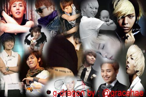 G-Dragon! Edit by me  ♥