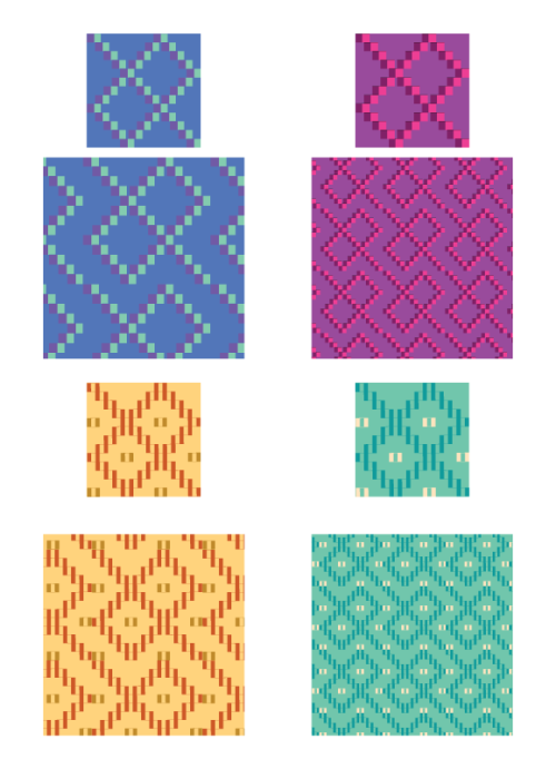 And then I made more patterns…