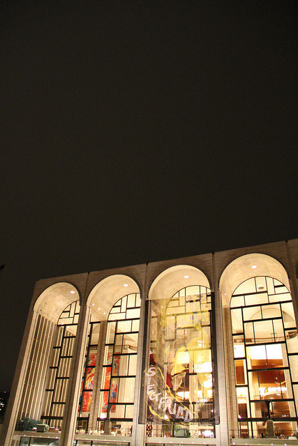 Arches on Flickr.The Metropolitan Opera House at Lincoln Center.