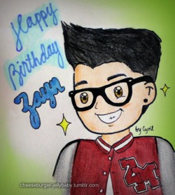 scarlettrosee:  cheeseburger-jellybaby:  It's almost Zayn's 19th birthday! Please reblog/like this until it has a bajillion notes! :) i will screen cap this and tweet it to our guy<3  Love this !