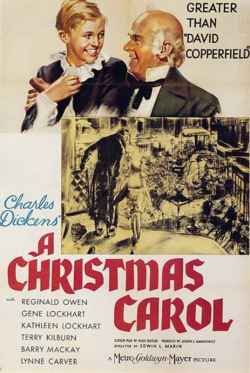 A Christmas Carol (1938) P365 Film #361 I'm a few days late for watching a Christmas movie really, but oh well. Like everyone, I already knew the story of this film, having seen it copied or parodied in dozens of different media. It's a lovely movie. It's quite short, but I didn't really think it needed to be any longer. The characters are so genuinely nice in this film, it's so heartwarming. I can easily see why it's a Christmas classic.