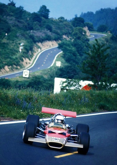 hellformotors:  Jochen Rindt at the 1969 French Grand Prix