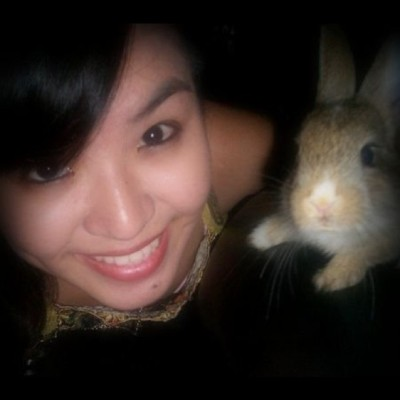 Peter Wabbit and Me! :) (Taken with instagram)