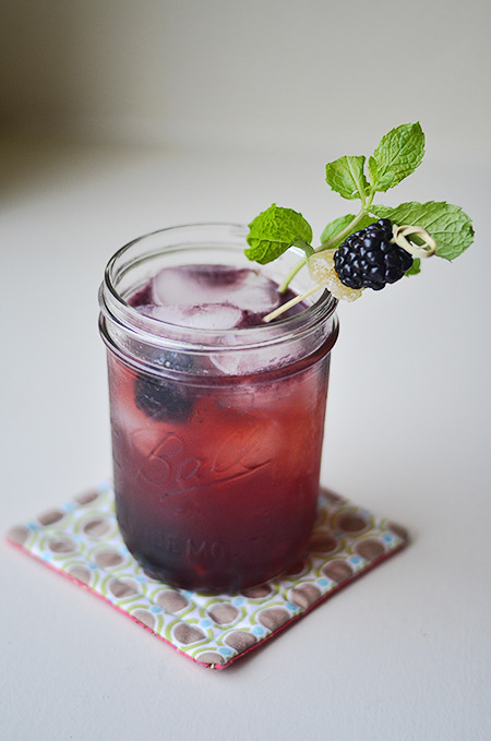 Blackberry Ginger Cooler by Bless Her heart