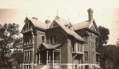 Maurice W. Levy Mansion; Wichita, KS by kendahlarama on Flickr.