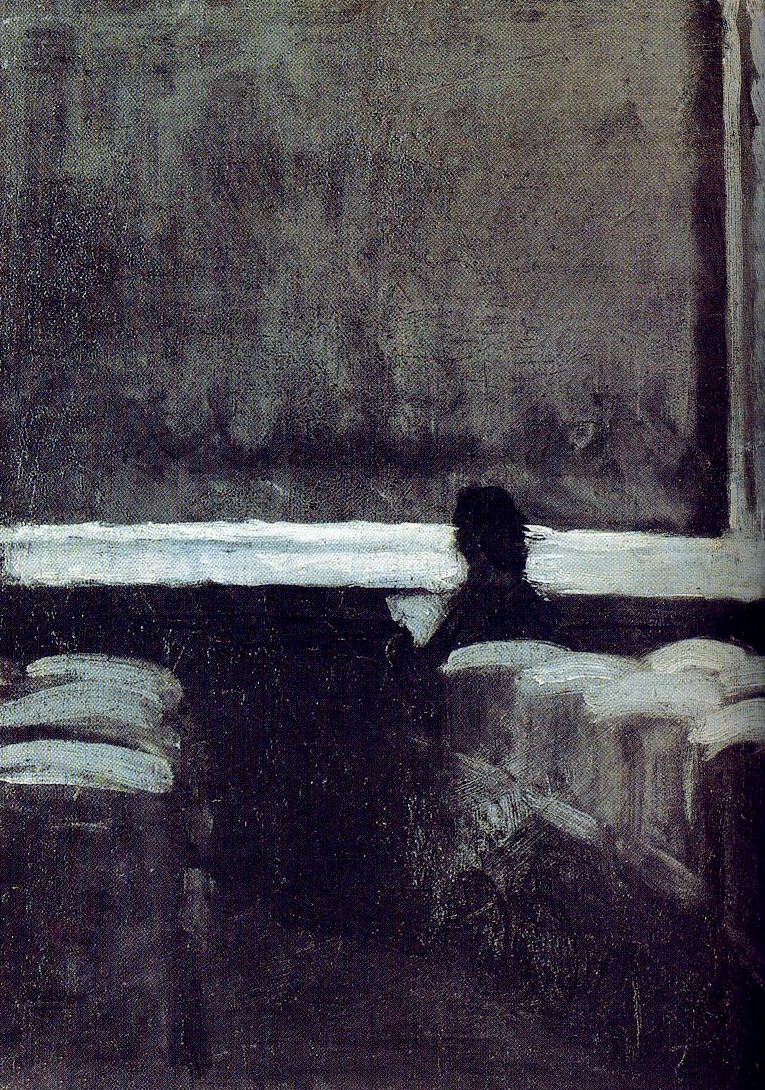 Edward Hopper, Solitary Figure in a Theater (1903)