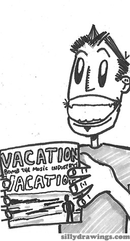 "# 83 - Album of the Year: Bomb the Music Industry! - ""Vacation"" (click the card to legally download the entire album for free, and enjoy)"