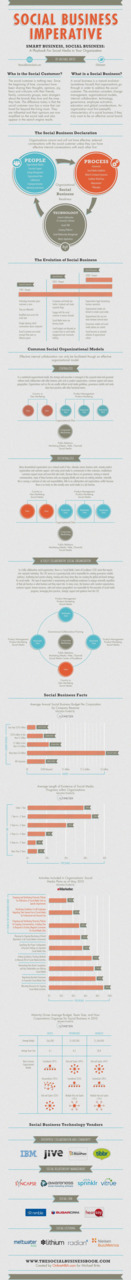 olivierberard:  The Social Business Infographic Infograhie sur le social business.