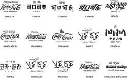 jaymug:  Coca-Cola Logo All Over The World