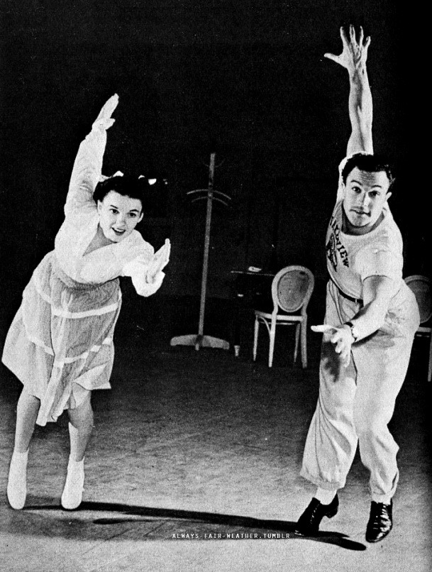 always-fair-weather:  Gene and Judy rehearsing for For Me and My Gal (1942)