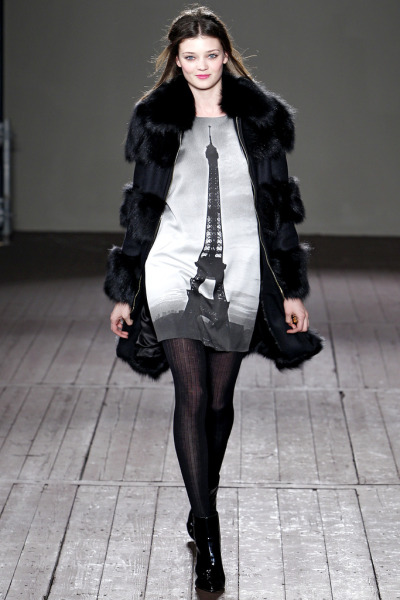 Wear a piece of your favorite city! from the Moschino Cheap And Chic F/W 2011-12 show via ellemichael