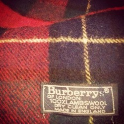 I never knew my mom was so fancy. #fancymom #burberry #vintage (Taken with instagram)