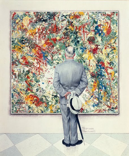The Connoisseur  By: Norman Rockwell