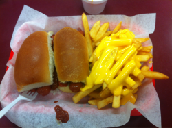 Comfort food aka coney island. Success