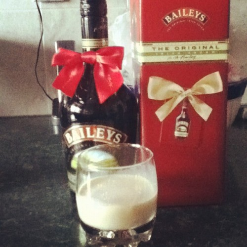 Something about baileys…. Guess its a Guyanese thing… (Taken with instagram)
