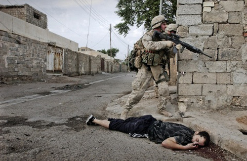 anarchyagogo:  1 million civilians killed In Iraq and Afghanistan over a million civilians have been killed since 2001.  They were not killed by Iran, Libya or Syria.  They were not killed in a civil war.  They were massacred by the United States government. The United Nations estimates that there are about 4.5 million displaced Iraqis — more than half of them refugees — or about one in every six citizens, 1-2 million widows and 5 million orphans. All a direct result of the U.S.-led invasion. Source