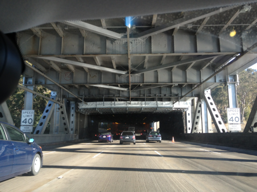The Bay Bridge.   80 East.