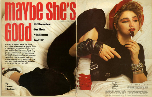 Inside Record Magazine march 1985