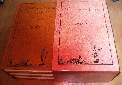 Lord Dunsany's The Collected Jorkens, in Slipcase - Volumes One, Two & Three [Hardcover]Lord Dunsany (Author), Sydney Sime (Illustrator), S. T. Joshi (Introduction) I want these sooo bad it makes my heart ache.  My birthday is tomorrow, it's only 450$ for the whole set♥