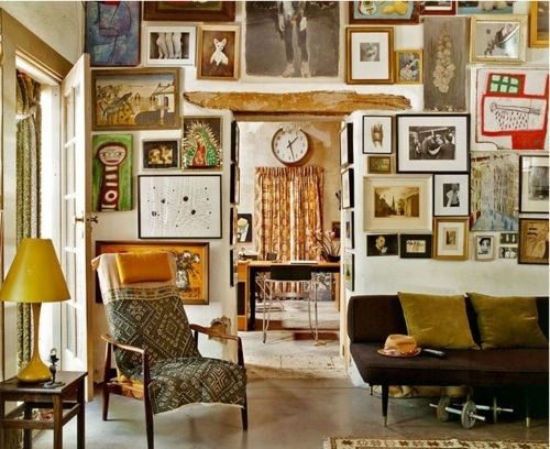 My Bohemian Home ~ Living Rooms <br />Source: La Maison Boheme