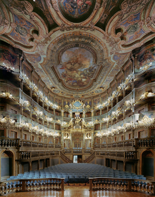 bienenkiste:  Margravial Opera House - Bayreuth, Germany Photographed by David Leventi