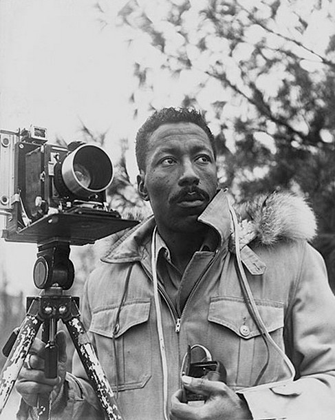 vintagecamerastyle:  Gordon Parks by Norman Eagle  Gordon Parks by Norman Eagle.