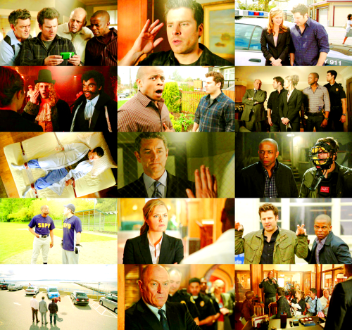 happilyevernow:   top 13 shows of 2011 // 3. psych   It's a gift that I bust out on rare occasions and almost all the time.