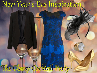 New Year's Eve Style Inspiration #2: The Classy Cocktail Party - The Frisky