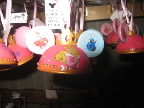 Adorable Sleeping Beauty Ornament