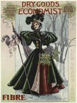 Image Title :  [Woman in green coat outdoors.] Creator : Moorhead, Irwin — Artist Published Date : 1895