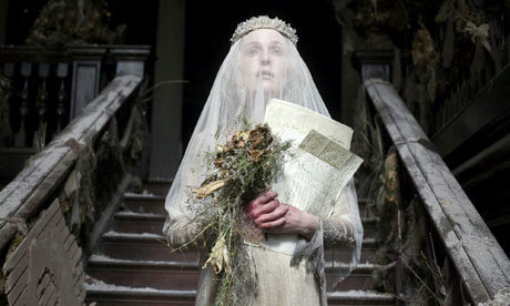 Gillian, you are not supposed to be hot while playing Miss Havisham. Oh. Wait. Fuck that.